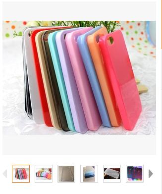 手机壳 iphone5s/5g 苹果5印刷点钻素材壳美容手机保护套厂家批发